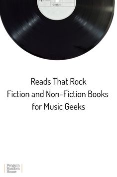 Are you ready to rock? If you're a music fan and reader, then we've got the book list for you. Horror Fiction, Literary Fiction, Fiction And Nonfiction, Historical Fiction, Reading Lists, Book Lists, Good Books, Books To Read, Book Proposal