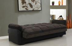 Futon Bed with Storage