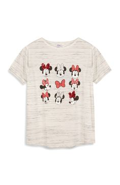 Primark - Grey Minnie Mouse T-Shirt £7