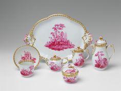 Königliche Porzellanmanufaktur Berlin, Ca. 1770/75.A Berlin KPM porcelain solitaire with mythological decor, Auction 1065 The Berlin Sale, Lot 26 #KPM #porcelain #porzellan #solitaire