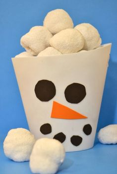 Fun indoor activity for winter: DIY Indoor Snowball Fight Kit!