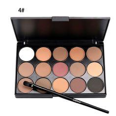 Natural 15 Colors Eye shadow Comestic Long Lasting Makeup Eyeshadow Palette Eye Shadow Make Up Set Professional For Women