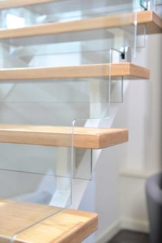 At Jarrods we can create coloured, etched, or cracked effect contemporary glass staircases, bringing light, space and a sense of style into your home!