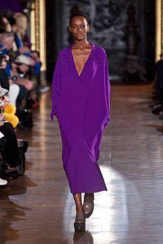 Vivid purple at Stella McCartney Fall 2013 #runway #fashionweek