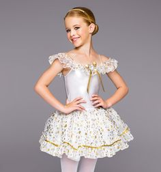 """Theatricals Costumes Girls """"Silver and Gold"""" *teacher item #discountdance #holiday #silverbells"""