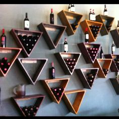 Wine wall - Jackson's in Nashville.