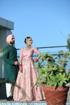 Bridal Suits Punjabi, Punjabi Bride, Punjabi Couple, Sikh Wedding, Punjabi Wedding, Groom Outfit, Groom Dress, Bridal Outfits, Bridal Dresses