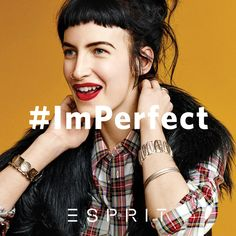 Can't pin me down? You don't have to! #ImPerfect