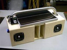 Picture of DIY Solar Boombox / GhettoBlaster