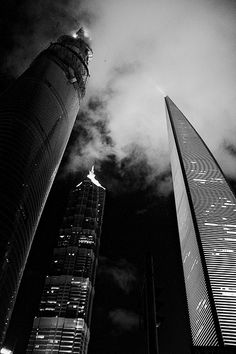 I love how this picture is presenting in the black and white format. Also when taking it, it was taken at our eye position. This is what we see when we look up. The city is full of tall building, that are as tall as the sky. The cloudy view on top are just like pressure. The pressure that every person have on top of them.