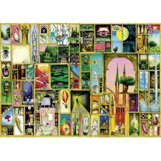 Colin Thompson, Insights, 1000 pcs   Coiledspring Games #jigsaws