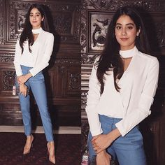 Janhvi Kapoor at bash. So happy to see new pictures of my angel Bollywood Celebrities, Bollywood Fashion, Bollywood Images, Bollywood Stars, Bollywood Actress, Latest Outfits, Fashion Outfits, Fashion Trends, Fashion Ideas