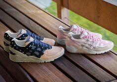"#sneakers #news  ASICS Launches New Premium ""Japanese Denim"" GEL-Sight Pack"