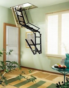4P, retractable staircase   Misterstep