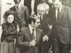 1971, Carlo Gambino at his wifes funeral.