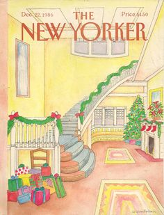 New Yorker cover by Iris Van Rynbach is house by TheBestofSonoma