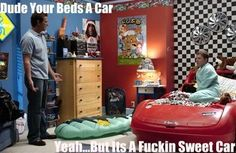 """Grandma's Boy- """"My roommates said they are going to get me a CB radio for Christmas so I can talk to other car beds"""""""