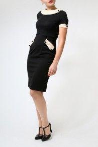 The Black Tiffany Dress by Lindy Bop