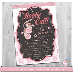 Girl Baby Shower Invitations Unique Baby Shower by ThePartyStork