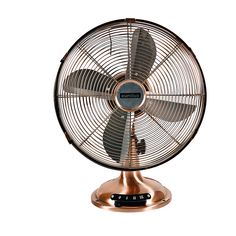 F24 - Desk fan 12' 3 speed antique copper Design Inspiration, Desk Fan, Metal Desks, Decor Styles, Comfortable Furniture, Gold Desk, Table Fan, Home Decor Store, Metal