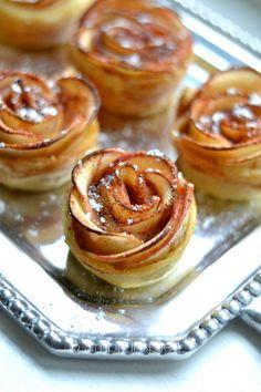 25 Apple Recipes - Apple Rosettes Recipe