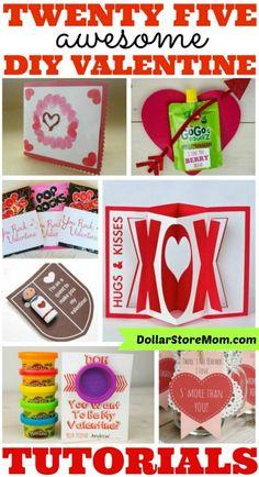 25 Awesome DIY Valentine Tutorials