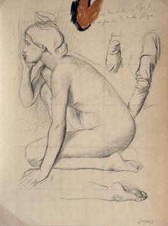 Edgar Degas - Sans titre