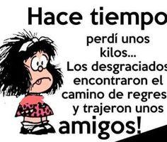 Resultado de imagen para susanita mafalda sonrie y veras Spanish Humor, Spanish Quotes, Mafalda Quotes, Best Quotes, Life Quotes, Grammar Book, Quotes About Everything, Frases Humor, Pinterest Memes