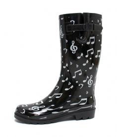 music note boots