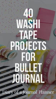 amazing washi tape projects to try on your bujo Washi Tape ideas for Bullet Journals. How to use washi tape in your bujo, over 40 creative washi tape ideas you will love. Bullet Journal Inspo, Bullet Journal Washi Tape, Bullet Journal How To Start A, Bullet Journal Writing, Bullet Journal Ideas Pages, Bullet Journal Layout, Journal Pages, Bullet Journals, Bullet Journal Ideas Templates