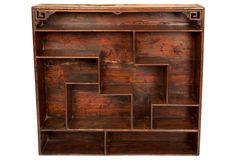 Shandong Elm Curio Shelf - Forgotten Shanghai :: $2095