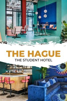 The Student Hotel The Hague. Want to stay somewhere cool and affordable in The Hague? Check out The Student Hotel. The Hague, Netherlands, Travel Inspiration, Dutch, Student, Cool Stuff, City, Check, The Nederlands