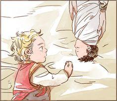 Thor y Loki niños Loki Art, Thor X Loki, Marvel Films, Marvel Funny, Marvel Memes, Marvel Characters, Marvel Avengers, Baby Marvel, Baby Avengers