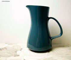 Vintage Mid Century Poole Pottery 'Blue Moon' pattern Made in England Large Milk Jug Retro English Tableware Vintage Drinkware by LittlemixAntique on Etsy