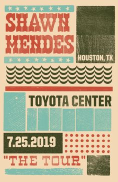 Poster - Shawn Mendes The Tour. Shawn Mendes Album, Shawn Mendes Tour, Shawn Mendes Concert, Shawn Mendes Imagines, Do You Know The Muffin Man, Houston, Toyota Center, Chon Mendes, English Dictionaries
