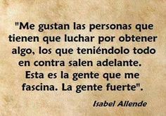 La gente que me fascina. Allende. *@