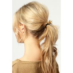 Ana Spike Hairband ($8) ❤ liked on Polyvore