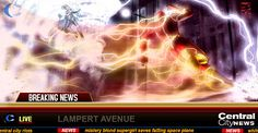 FLASHES BEFORE YOUR EYES: THE FLASH VS WEATHER WIZARD LIVE!