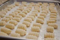 Gluten Free Potato Gnocci - Mmmm.  Gnocci.  Good instructions, worked quite well.  Very delicious.
