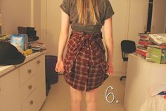 Trashy Vogue | por Jacqueline Illoz: DIY: Como usar camisa xadrez como saia!