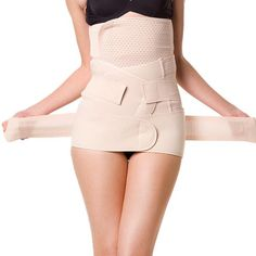 0aeea84400 3 Pieces Plastic Bone Nude Losing Weight Belly Slimming Belt Body Corset