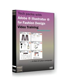 Tech pack for fashion design with Adobe Illustrator