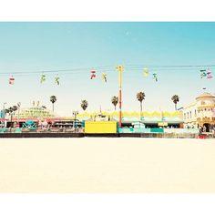 Bree Madden Beach Boardwalk Print