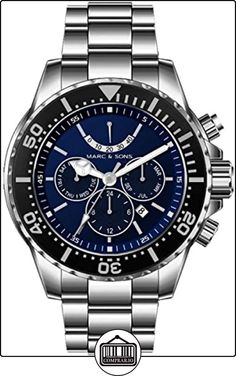 MARC & SONS MSD-042 - Reloj para hombres de  ✿ Relojes para hombre - (Gama media/alta) ✿