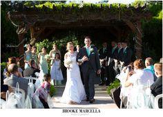 Shenandoah Mill wedding ceremony in Gilbert, Arizona.