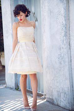 so feminine and pretty KARLA'S CLOSET: Buttercream