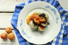 Delicious blog: Ovocné tofu knedlíky Tofu, Delicious Blog, Breakfast, Morning Coffee