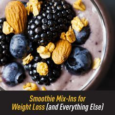 Smoothies are a great way to cut calories, lose weight, and feel amazing! But there are certain mix-ins you can add that can seriously up the effectiveness