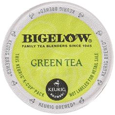 Bigelow Green Tea Keurig KCups 18 Count ** Want to know more, click on the image.