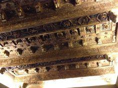Part of the ceiling in Rodrigo Borgia's bedroom. Cesare Borgia, The Borgias, Medieval, Ceiling, Bedroom, Pictures, House, Inspiration, Photos